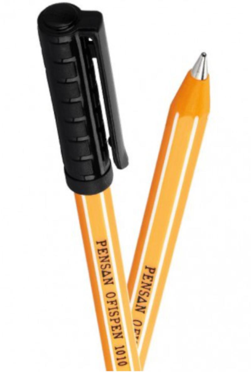 Pensan Ofispen Tükenmez Kalem 1mm Siyah
