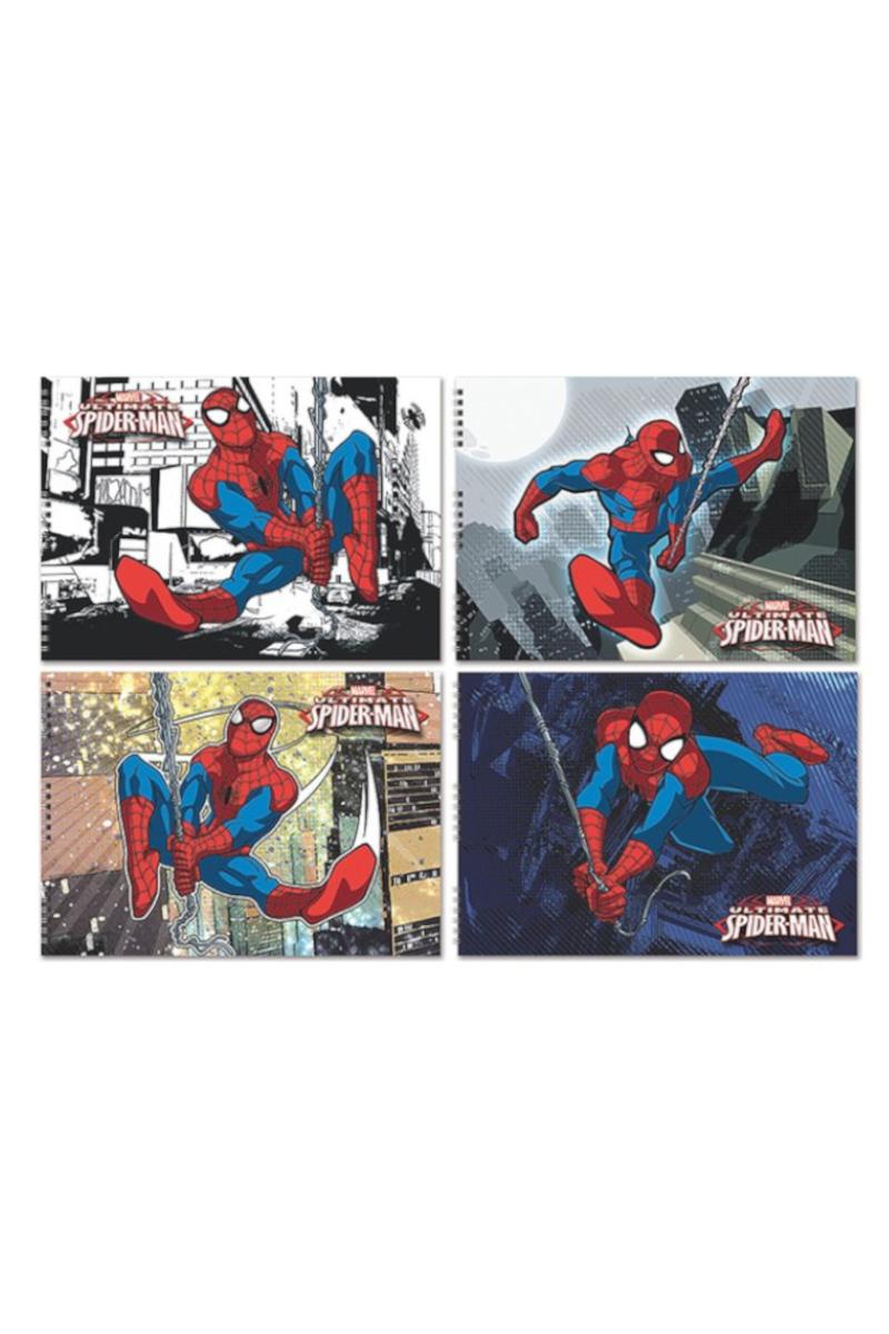 Keskin Color Spiderman Spiralli Resim Defteri 25x35 15 Yaprak.