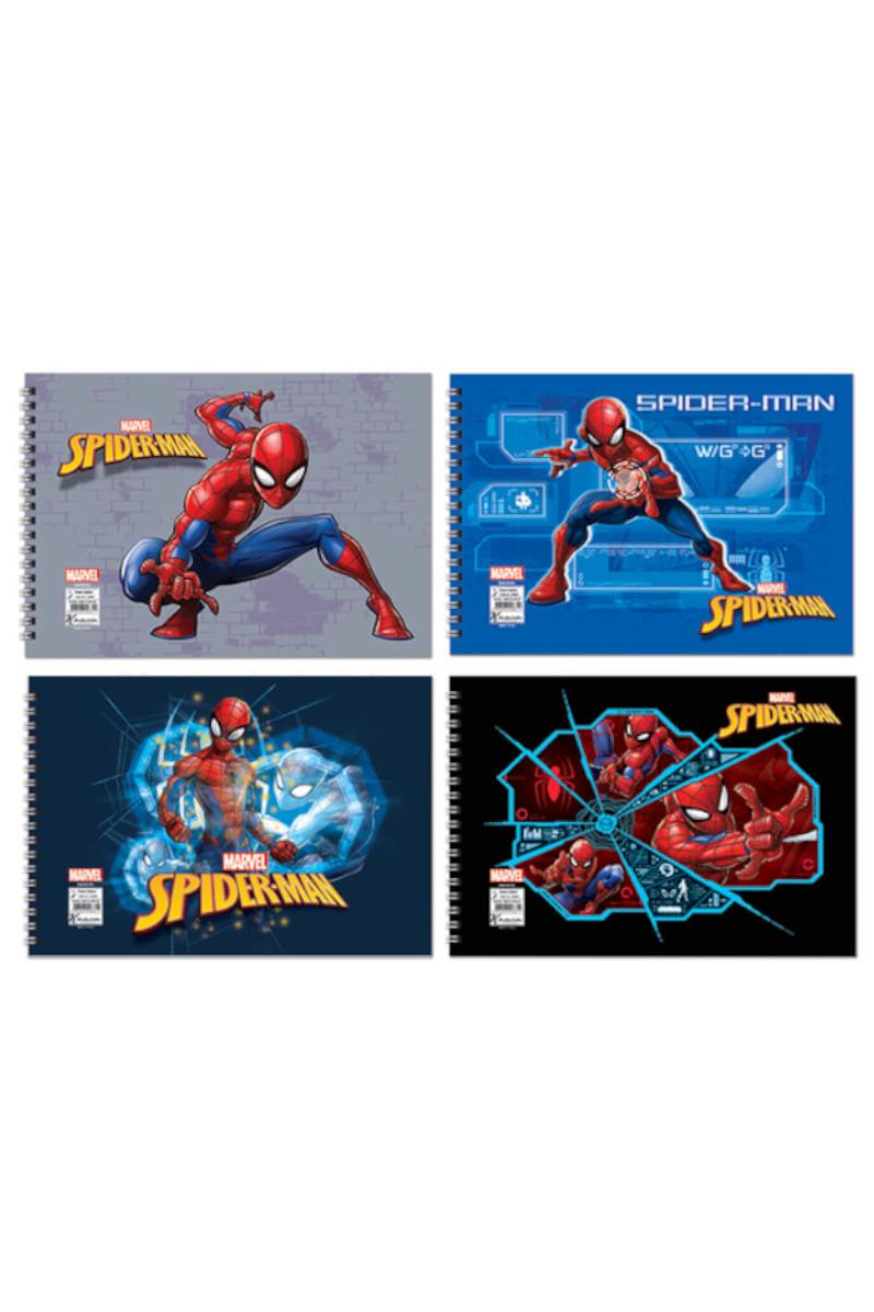 Keskin Color Spiderman Spiralli Resim Defteri 17x25 15 Yaprak