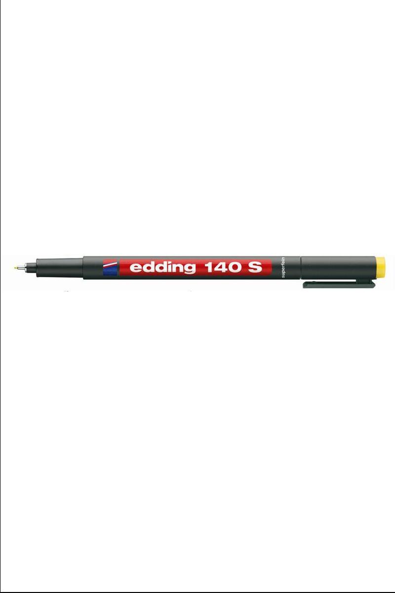 Edding 140-S Asetat Kalemi Sarı