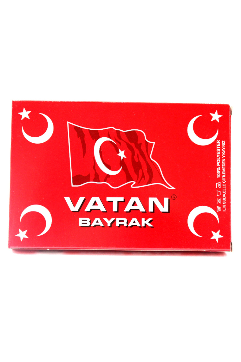 Vatan Bayrak Polyester 20x30cm