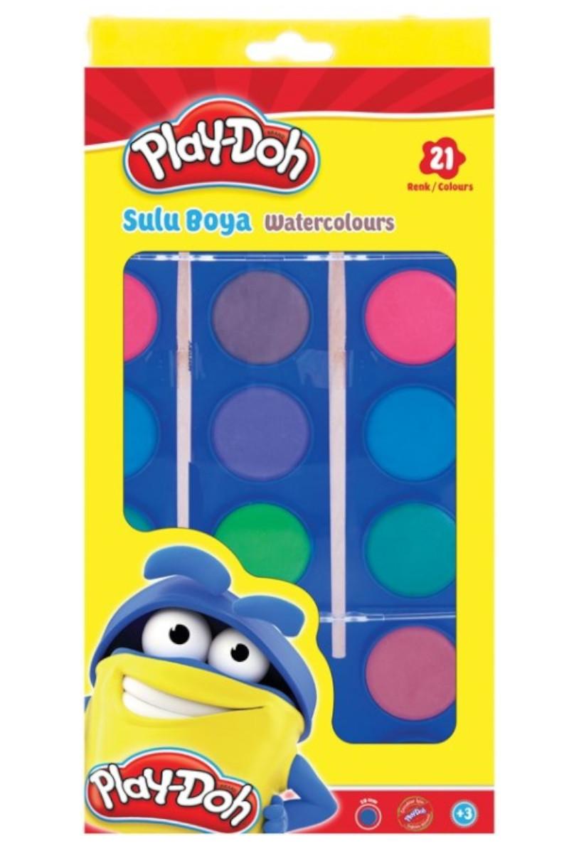 Play-Doh Suluboya 21 Renk Play-Su004