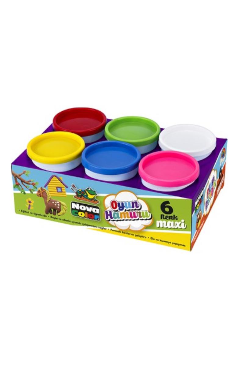 Nova Color Oyun Hamuru Maxi Tek Renk Pembe