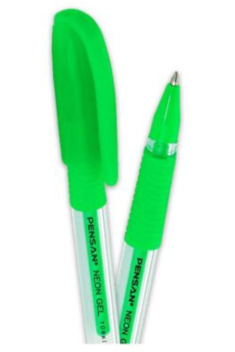 Pensan Neon Jel Kalem 1mm Yeşil