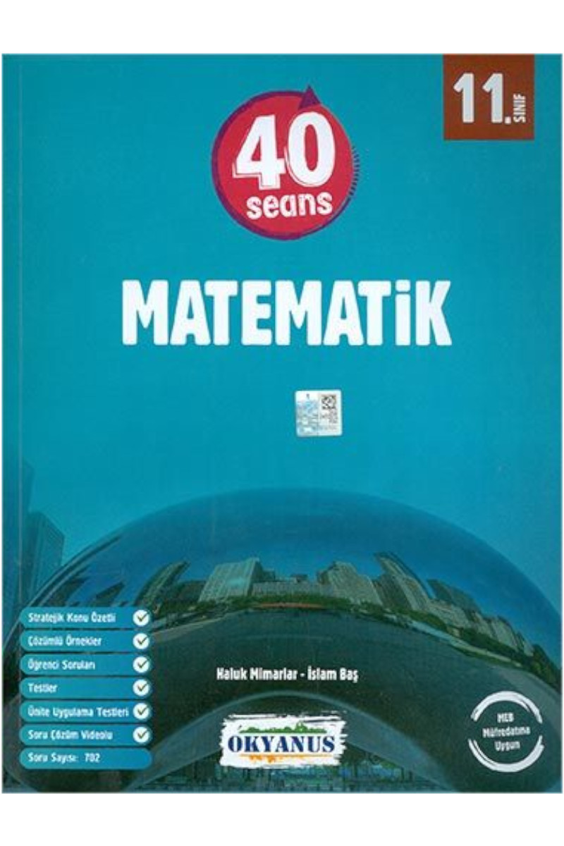 Okyanus 11.Sınıf Matematik 40 Seansta