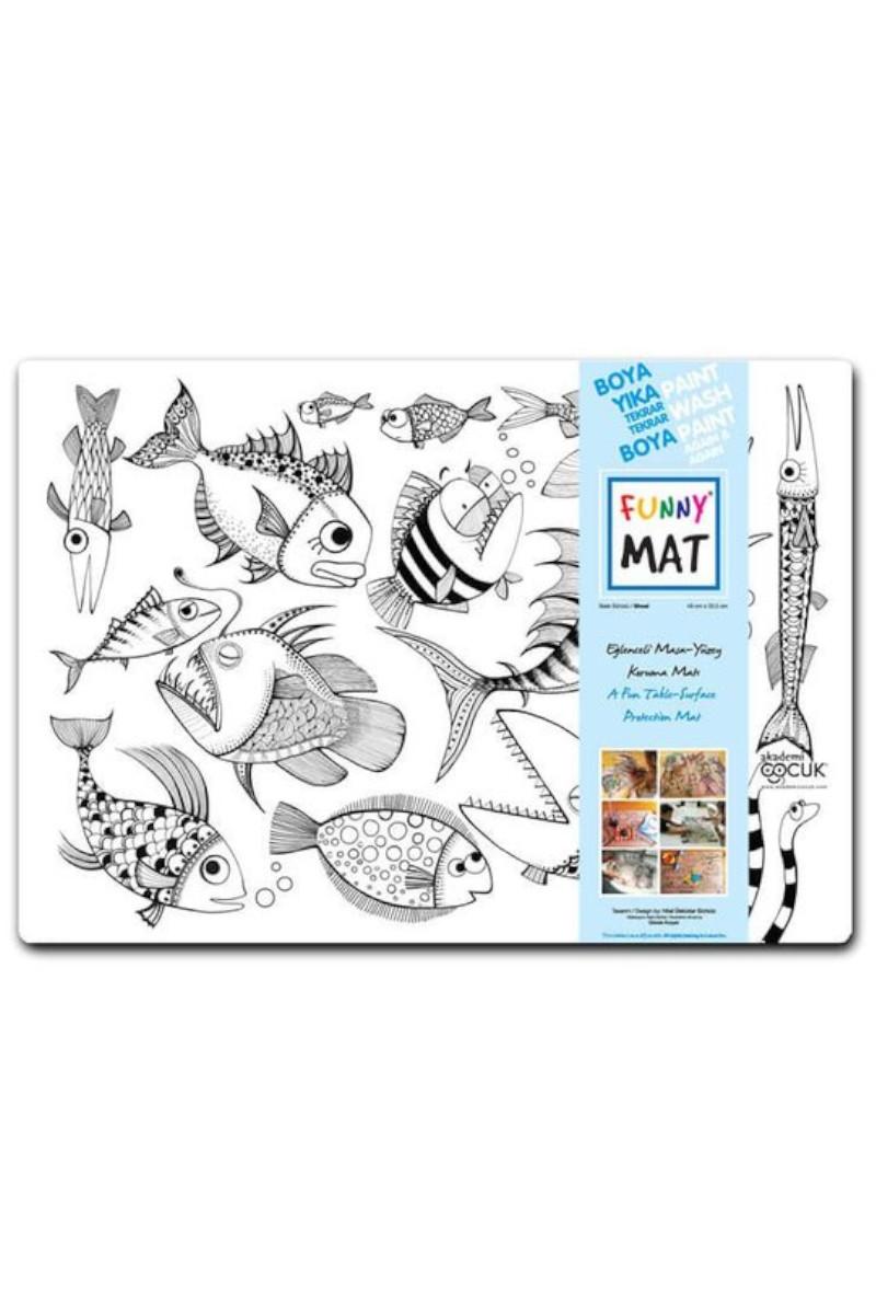 Funny Mat-Balık Sürüsü