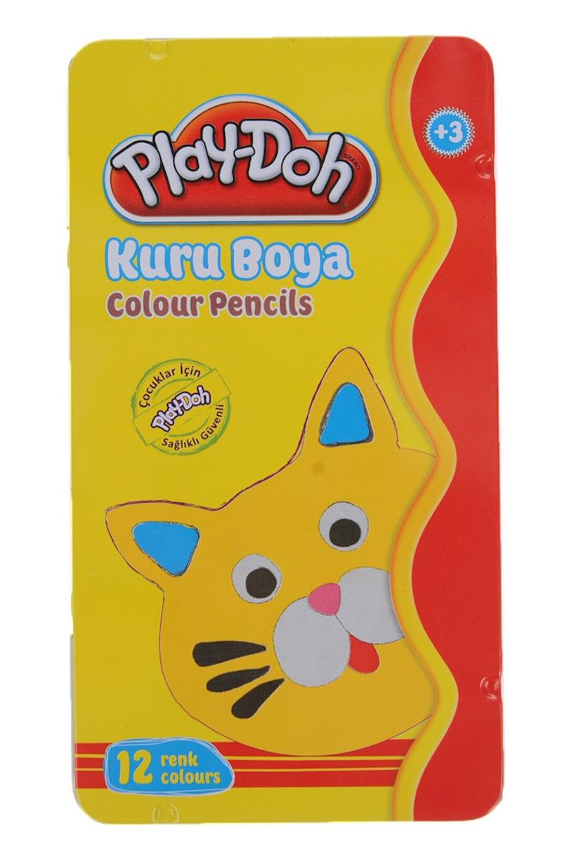 Play-Doh Teneke Kuru Boya 12 Renk