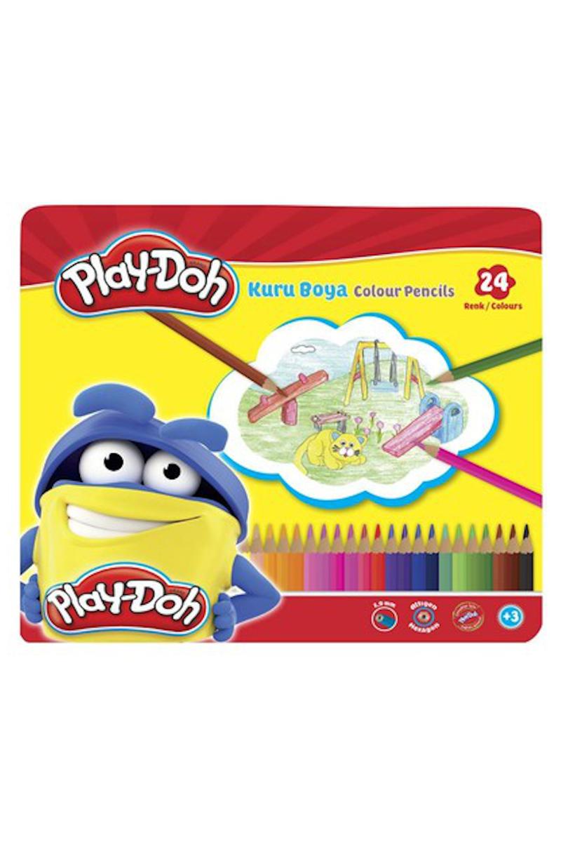 Play-Doh Teneke Kuru Boya 24 Renk