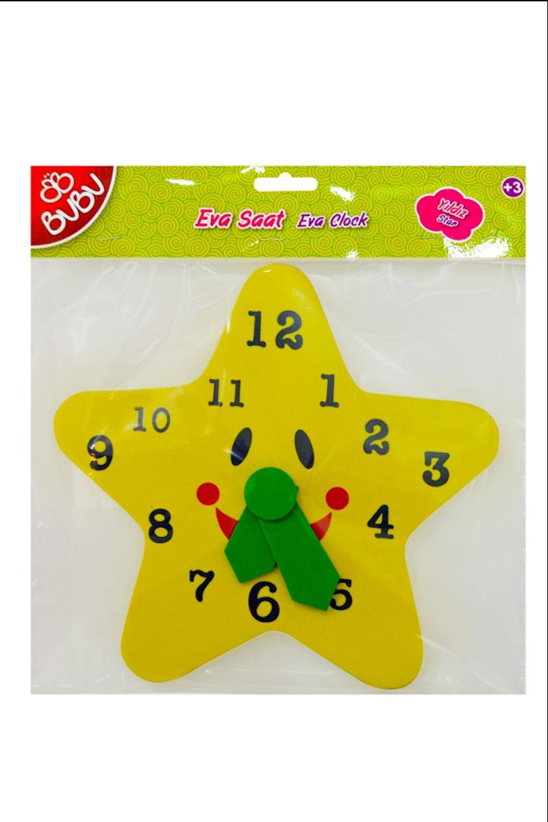 BU-BU Eva Yıldızlı Saat
