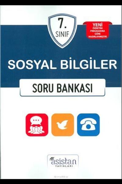 Asistan Yayınları 7.Sınıf Sosyal Bilgiler Soru Bankası