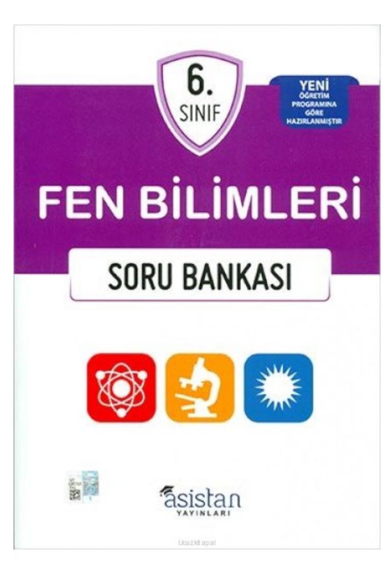 Asistan Yayınları 6.Sınıf Fen Bilimleri Soru Bankası