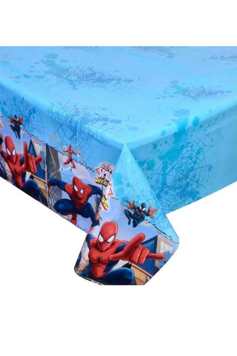 Spiderman Plastik Masa Örtüsü 120 x 180cm