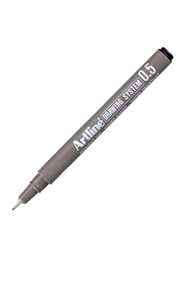 Artline 235 Çizim Kalemi Siyah 0,5 Mm