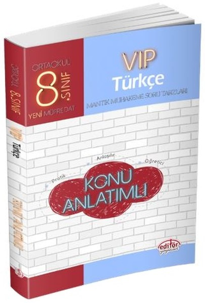 8. Sınıf Vıp Türkçe Konu Anlatımı