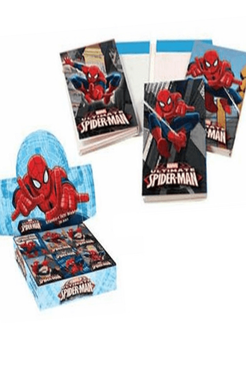 K.Color Spiderman Standart İkili Bloknot