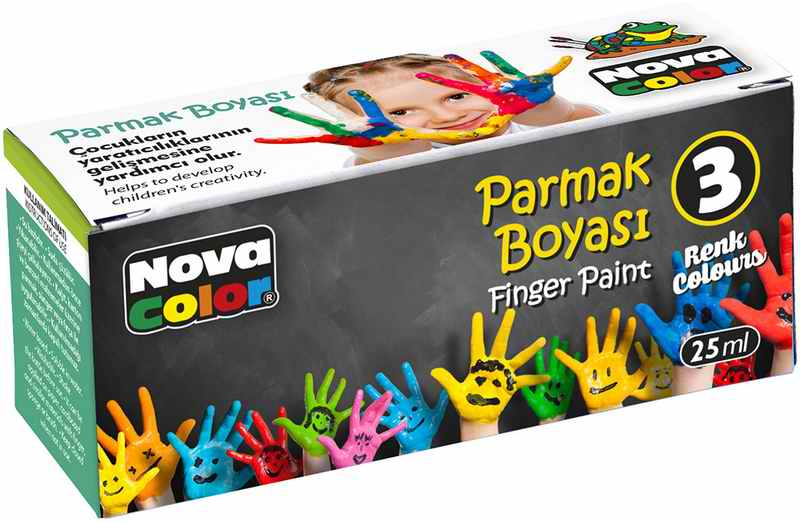 Nova Color Parmak Boya 3lü