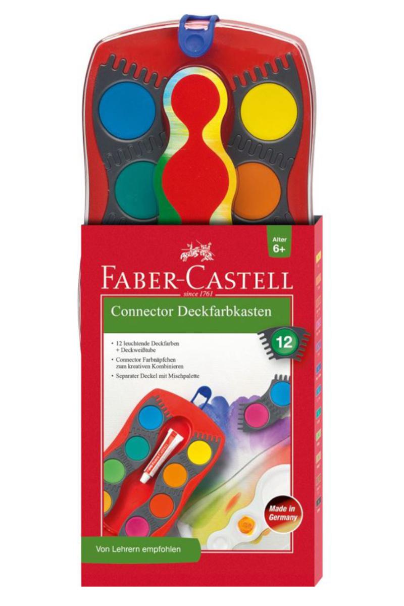 Faber Castell Suluboya Değişebilir Tablet 12 Renk
