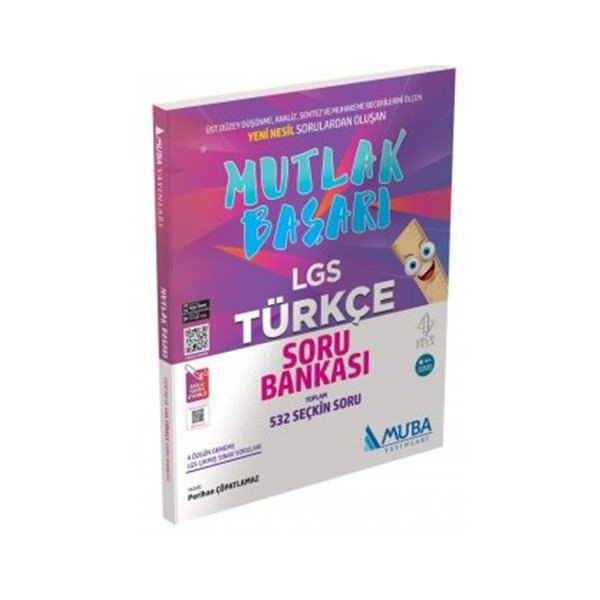 Muba Yayınları Mutlak Başarı LGS Türkçe Soru Bankası