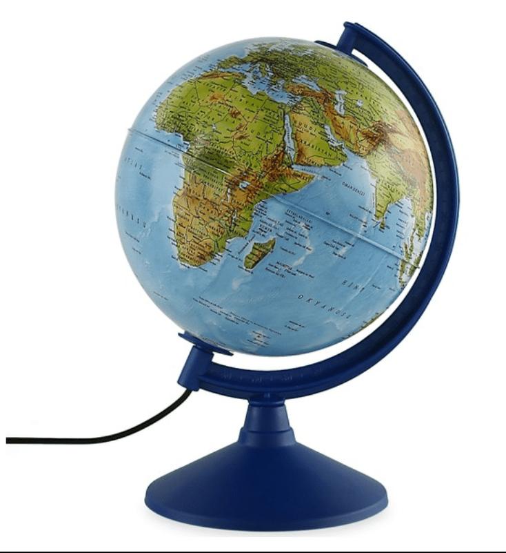 Gürbüz Işıklı Fiziki + Siyasi Küre 20 Cm