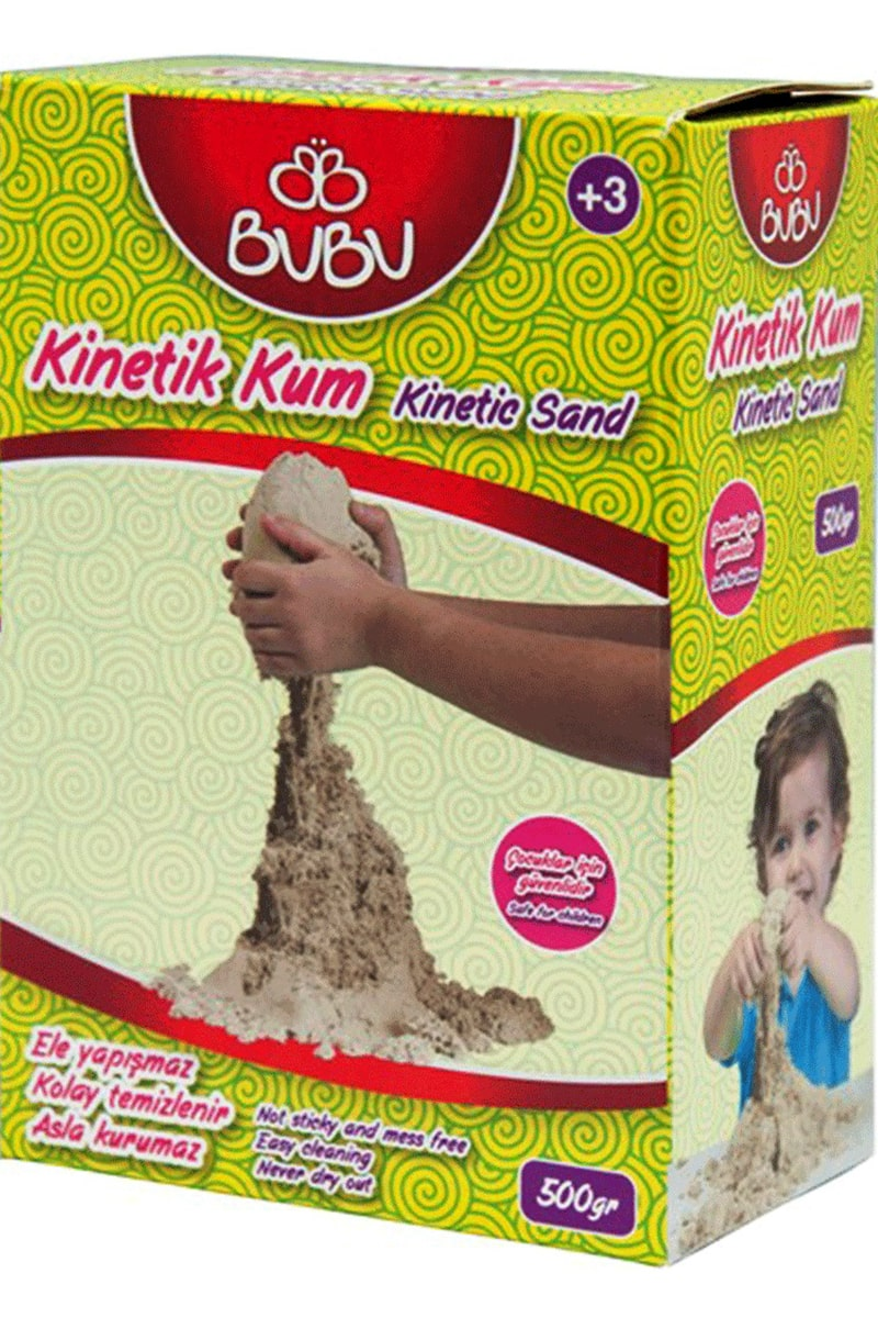 Bu-Bu Kinetik Kum 500 Gr. Natural (Bubu-Ku0001)