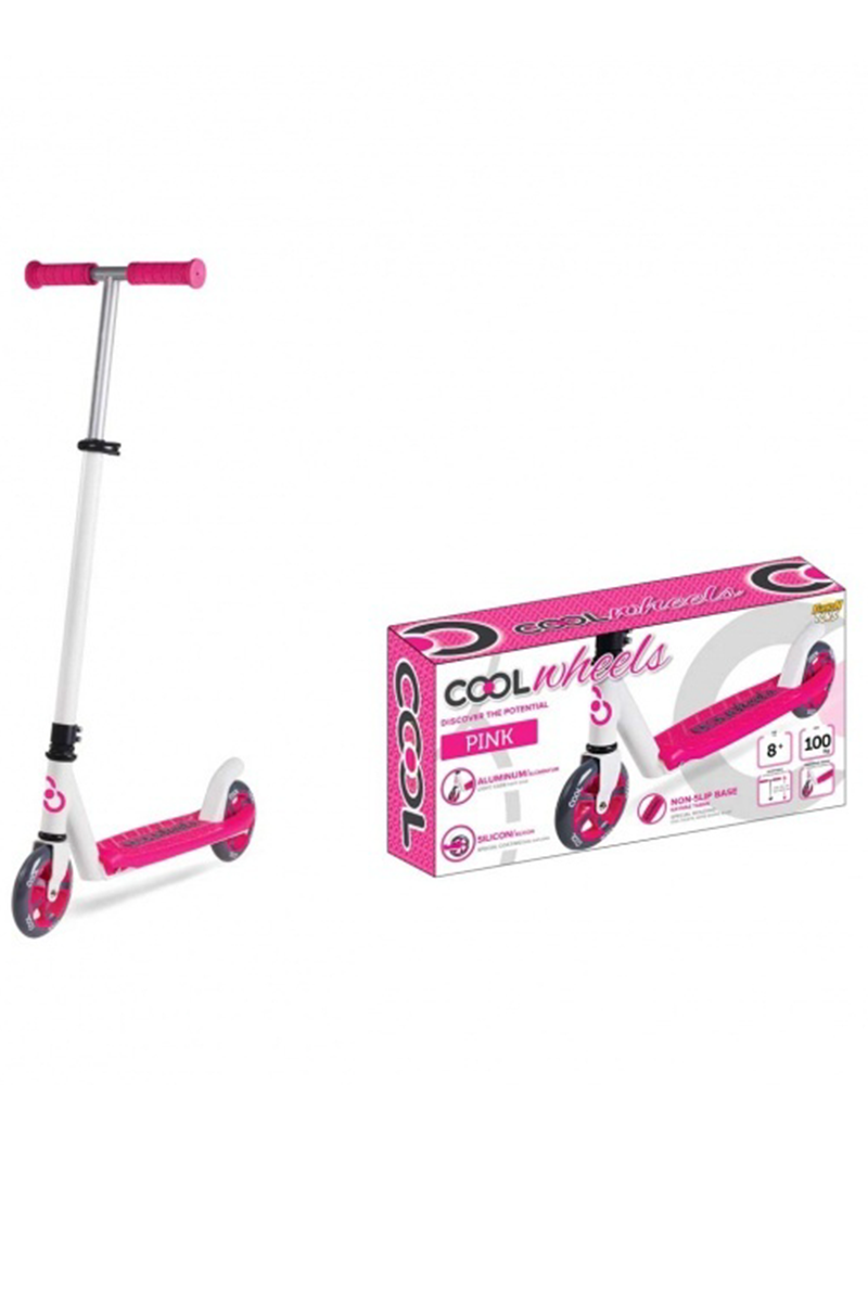 Cool Wheels 2 Tekerlekli Scooter Pembe  8+