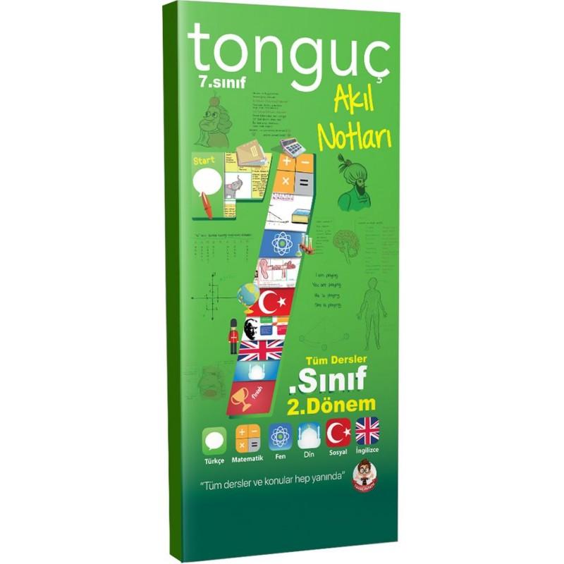 Tonguç Akademi 7. Sınıf 2. Dönem Akıl Notları