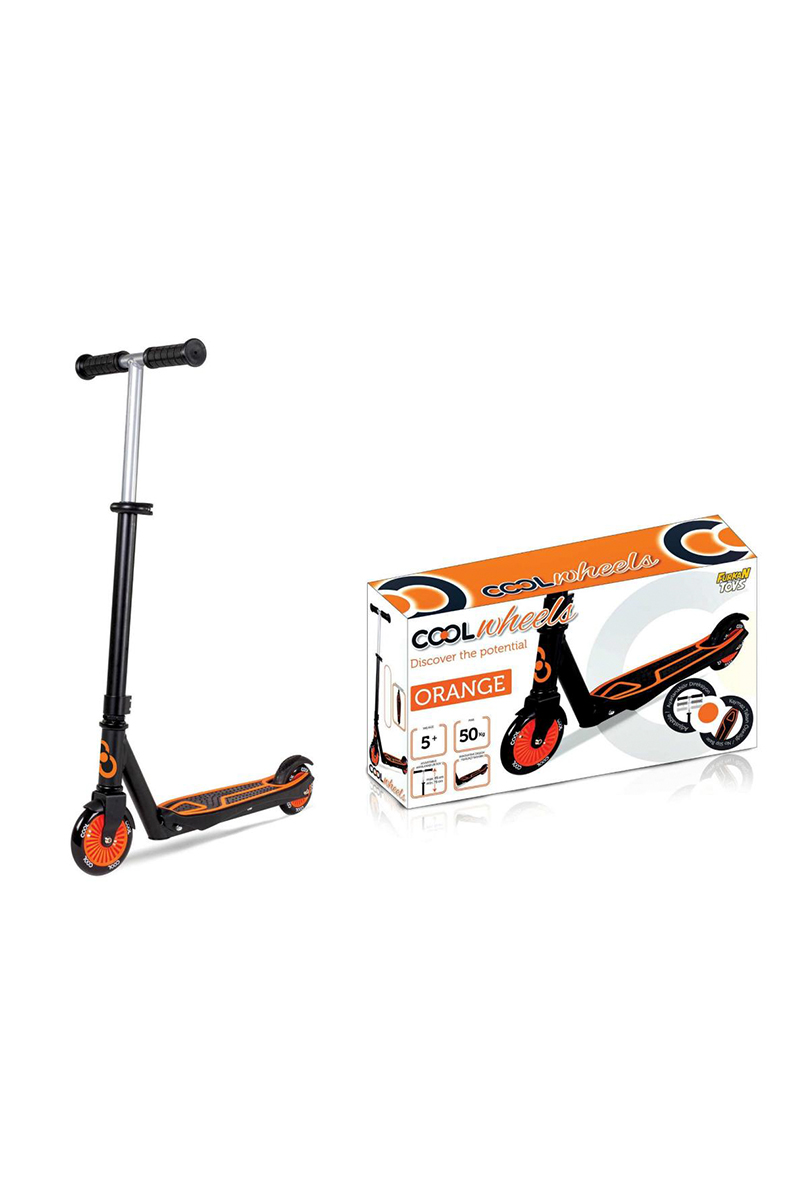 Cool Wheels Scooter 2 Tekerlekli  Turuncu 5+