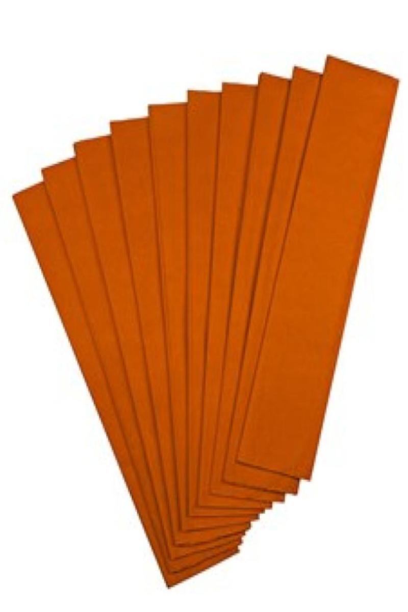 Nova Color Renkli Krapon Kağıdı Turuncu 10'lu