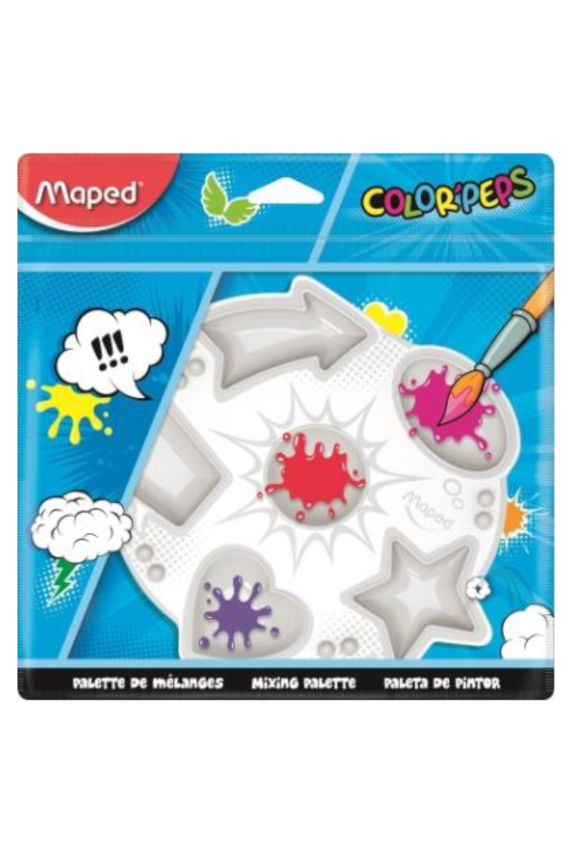 Maped Color Peps Plastik Resim Paleti