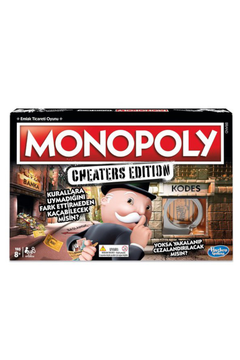 Hasbro Monopoly Cheater's Edition