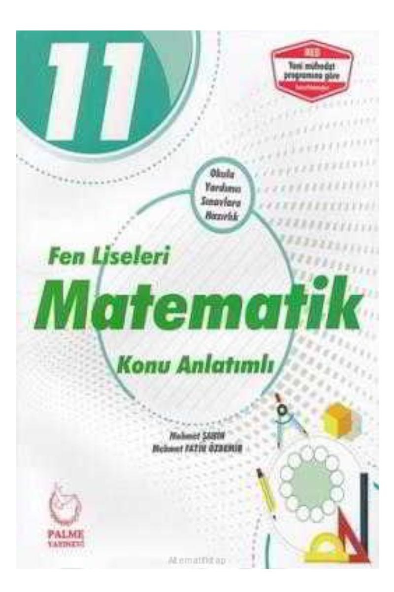Palme 11. Sınıf Matematik Fen Lisesi Soru Bankası