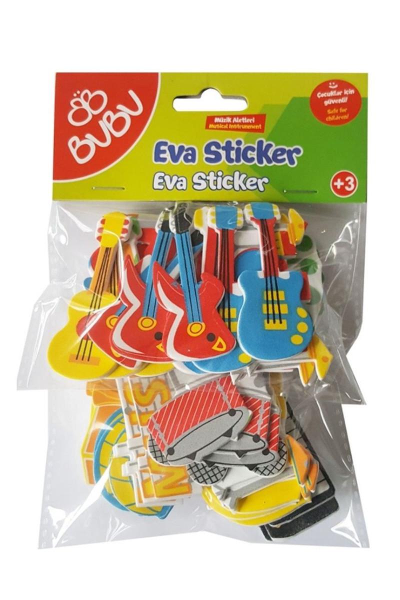 BU-BU Eva Sticker Muzik Aletleri