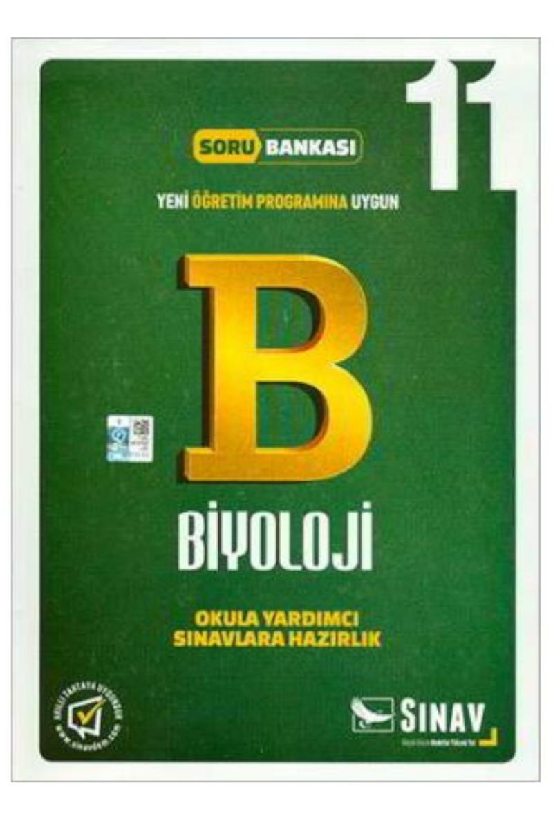 Sınav Yayınları 11. Sınıf Biyoloji Soru Bankası