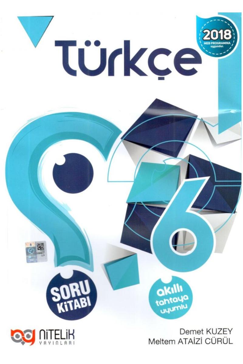 Nitelik 6. Sınıf Türkçe Soru Bankası