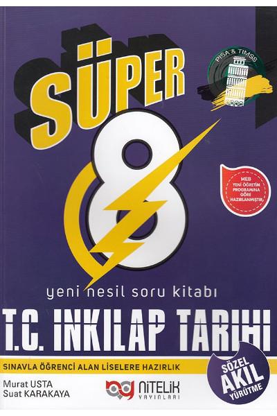 Nitelik 8 İnkılap Süper Soru Bankası