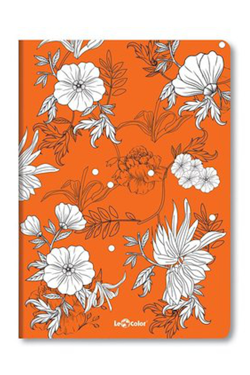 Le Color Botanic Turuncu Noktalı Defter 17x24 192 Yaprak
