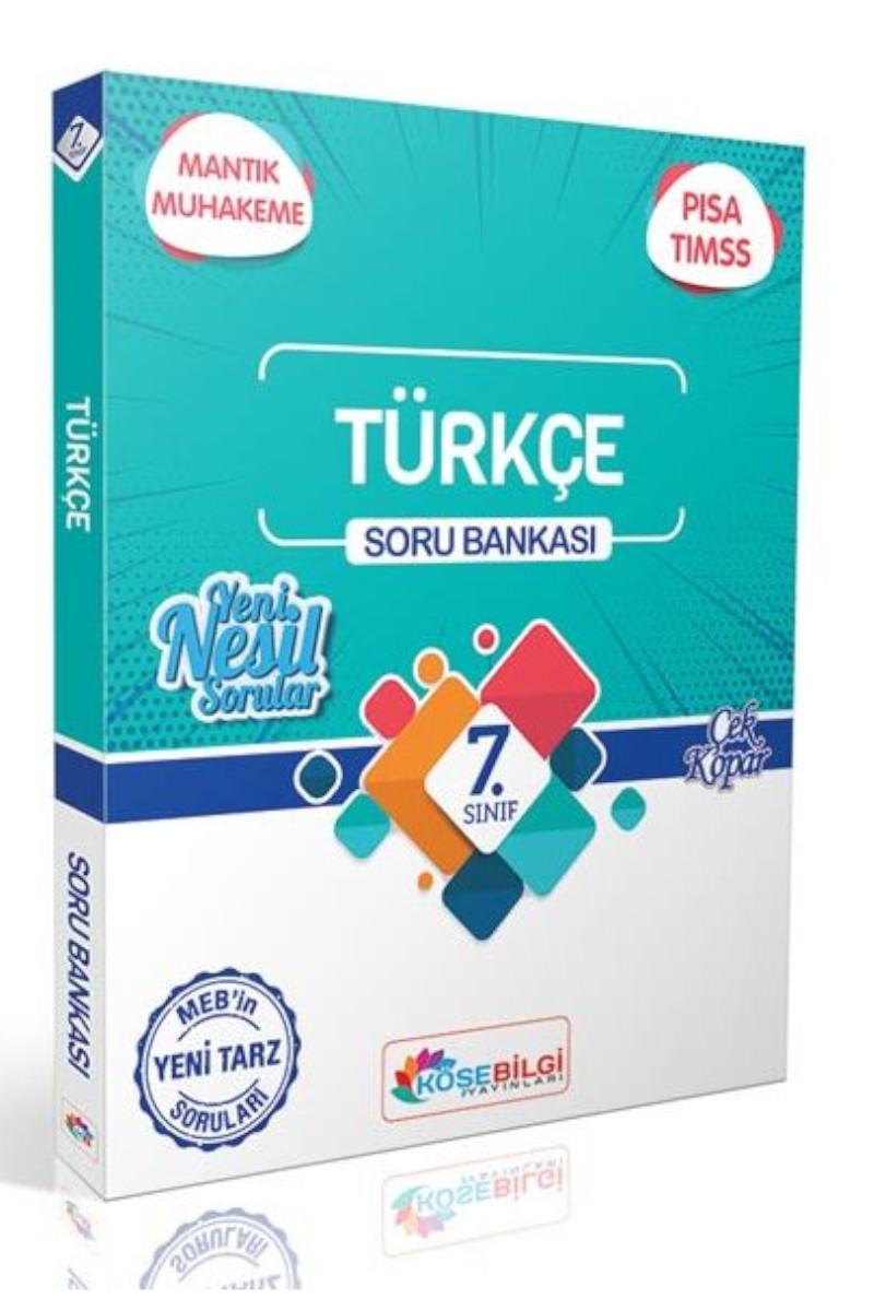 KöşeBilgi 7. Sınıf Türkçe Soru Bankası
