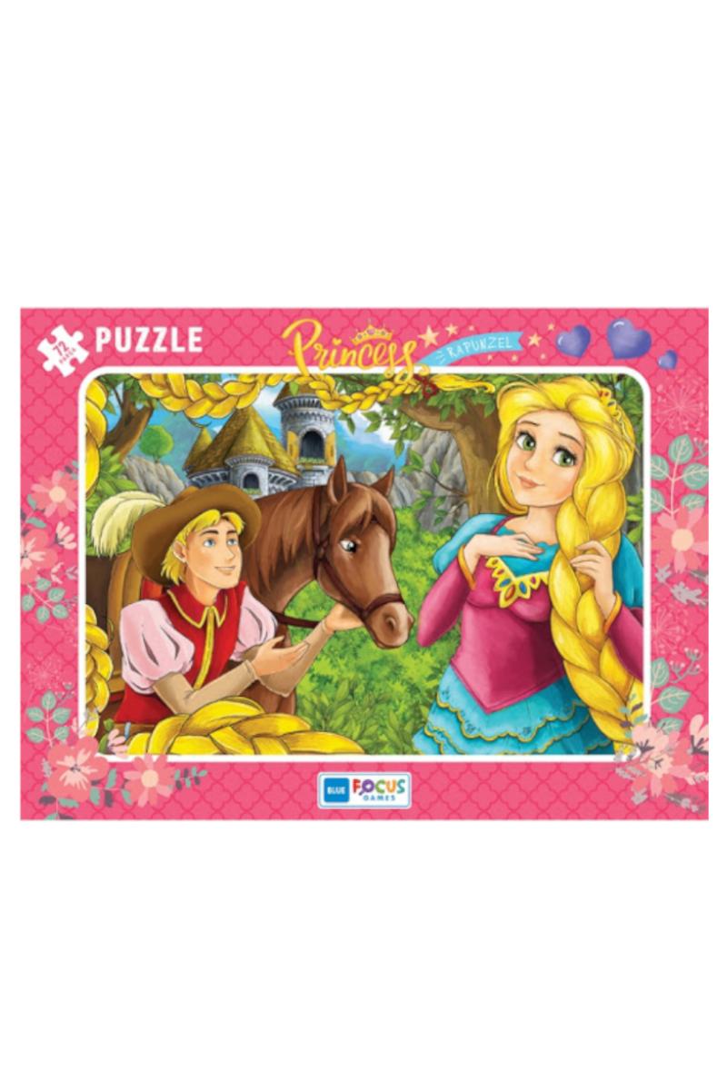 Blue Focus 72 Pcs Princess Rapunzel Puzzle