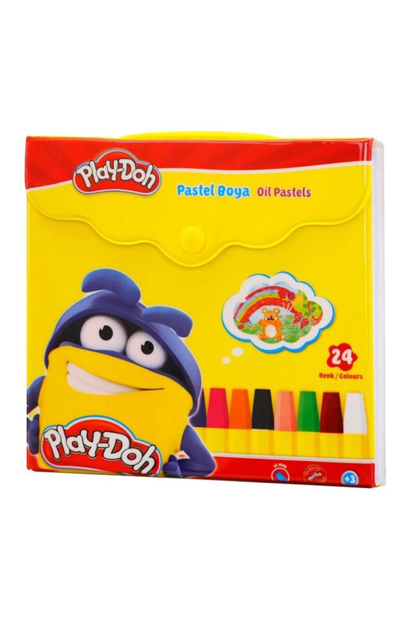 Play-Doh Pastel Boya Çantalı 24 Renk