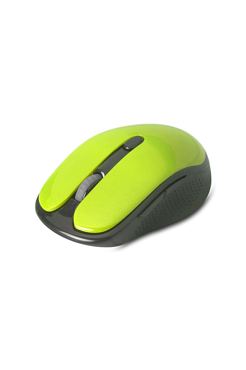 Everest Yeşil Kristal Kutulu Kablosuz Mouse