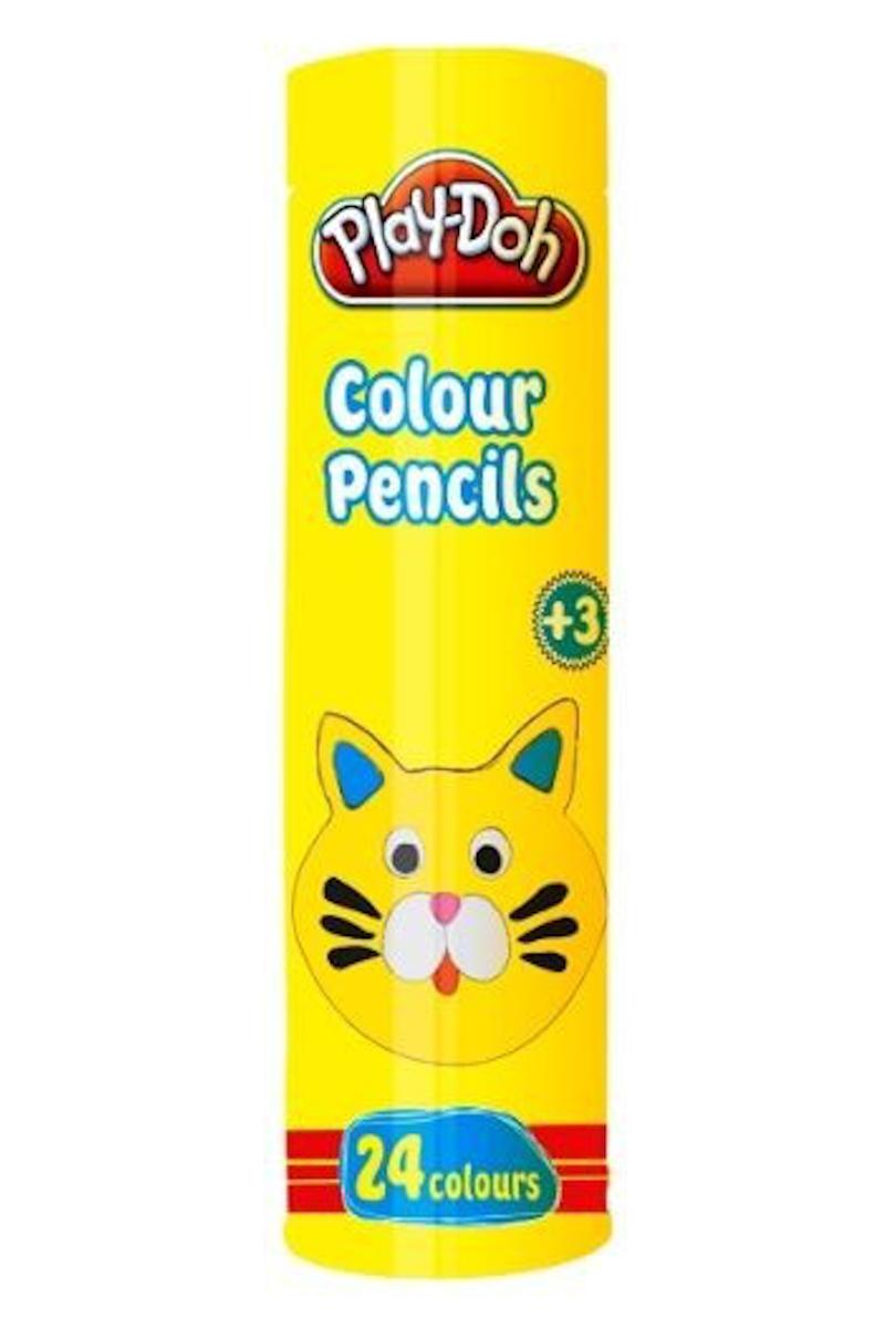Play-Doh Tüp Kuru Boya 24 Renk