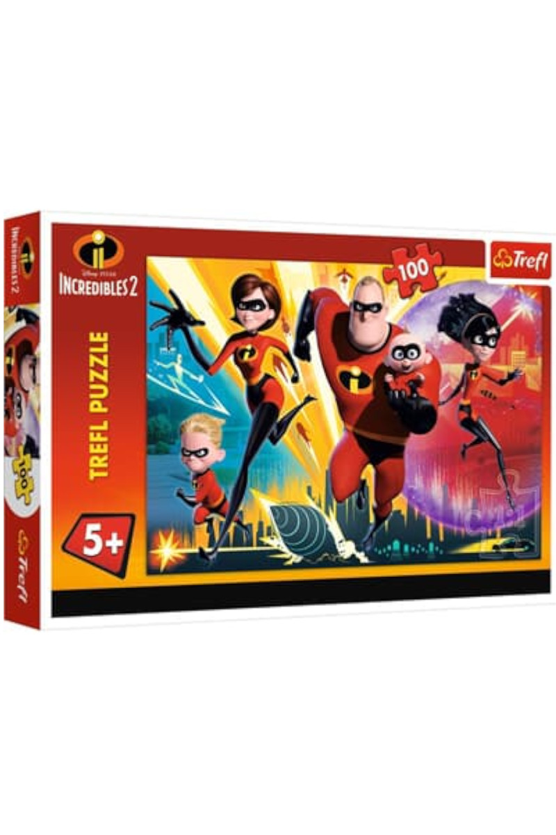 Trefl Puzzle 100 Disney The Incredibles 2