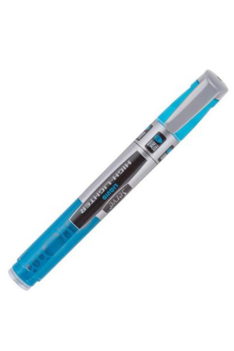 Serve Likit Fosforlu Kalem Pastel Mavi