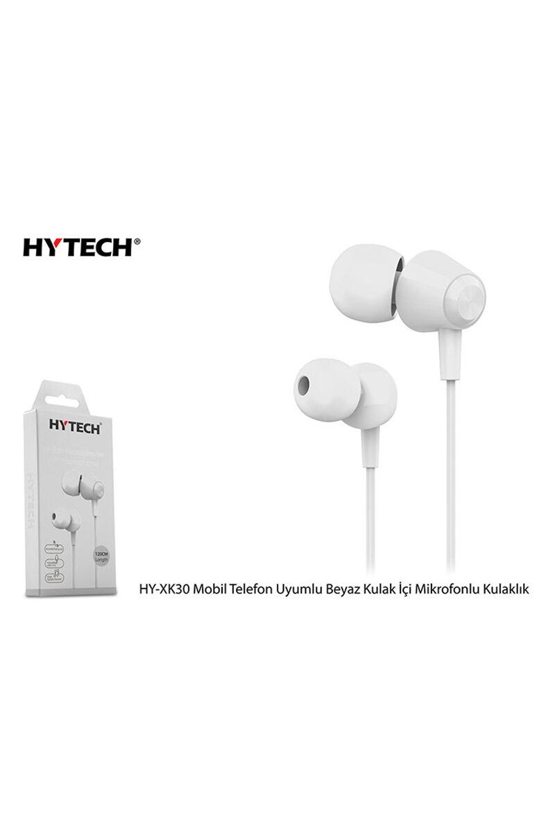 HYTECH Mikrofonlu Beyaz Kulaklık HY-XK30