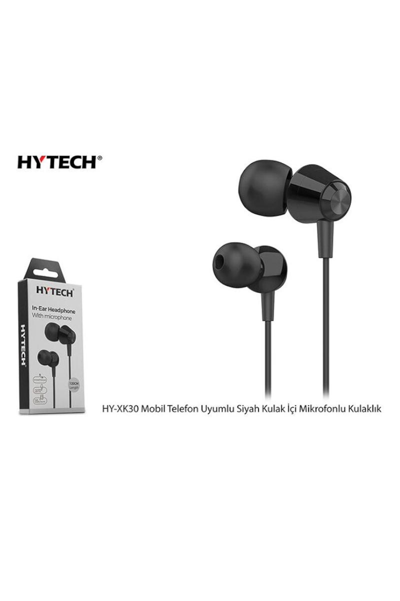 HYTECH Mikrofonlu Siyah Kulaklık HY-XK30