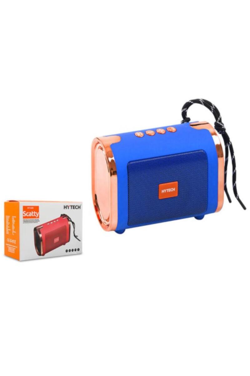 Hytech HY-S30 DC 5V Bluetooth Speaker Mavi Usb+TF Kart
