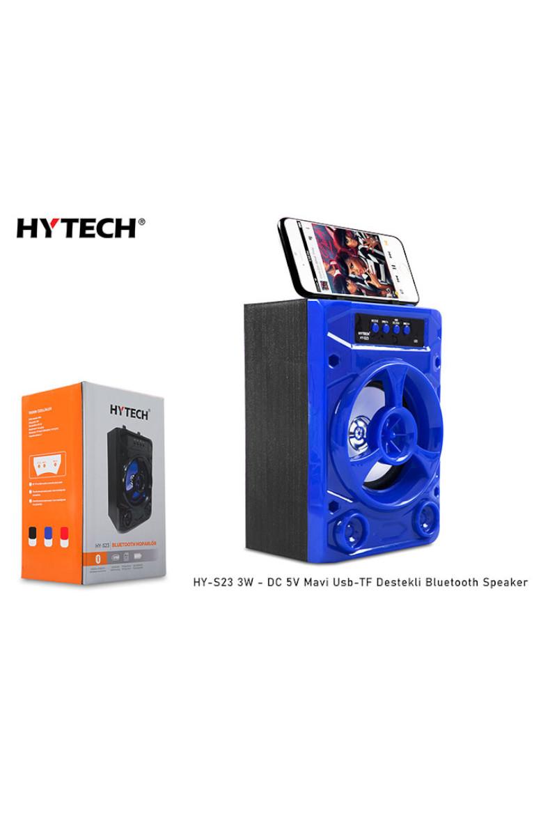 Hytech HY-S23 Mavi 3W - DC 5V Bluetooth Speaker