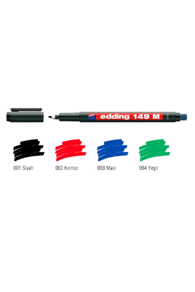 Edding 149-M Asetat Kalemi Kırmızı