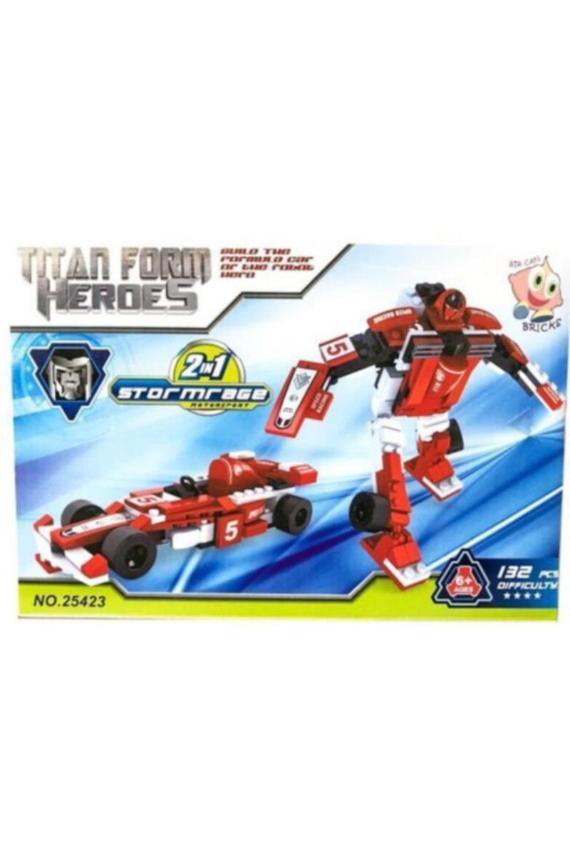 Lego 132 Parça Robot