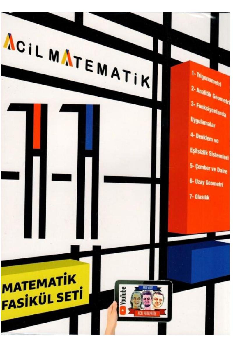 Acil Yayınları 11. Sınıf Matematik Fasikül Seti